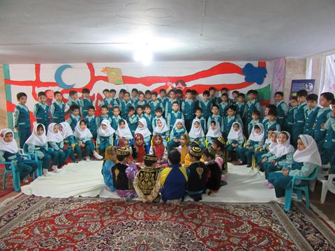 روز جهانی کودک(اجرای سرود کودکانه)